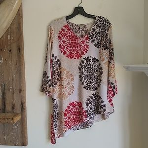 Chico's Easywear Collection Tunic Size 3